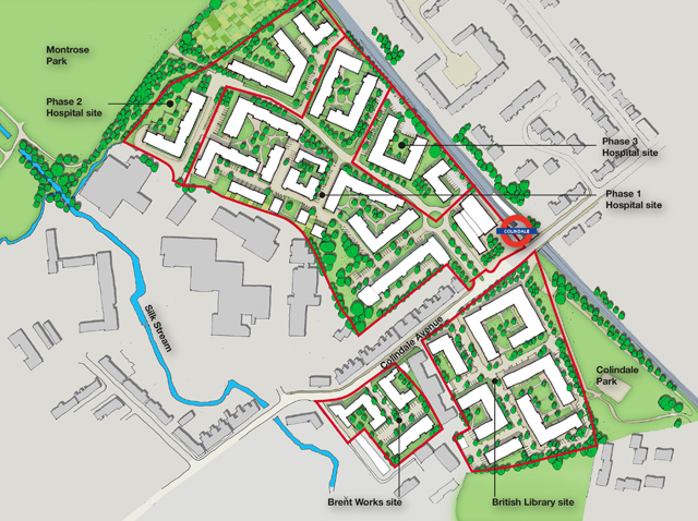 ARU Colindale Overall Masterplan
